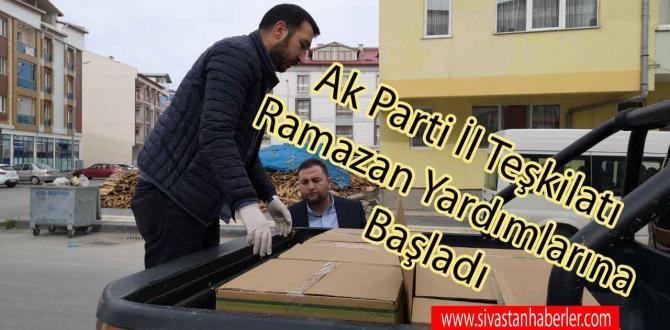Ak Parti İl Teşkilatı Ramazan Yardımlarına Başladı