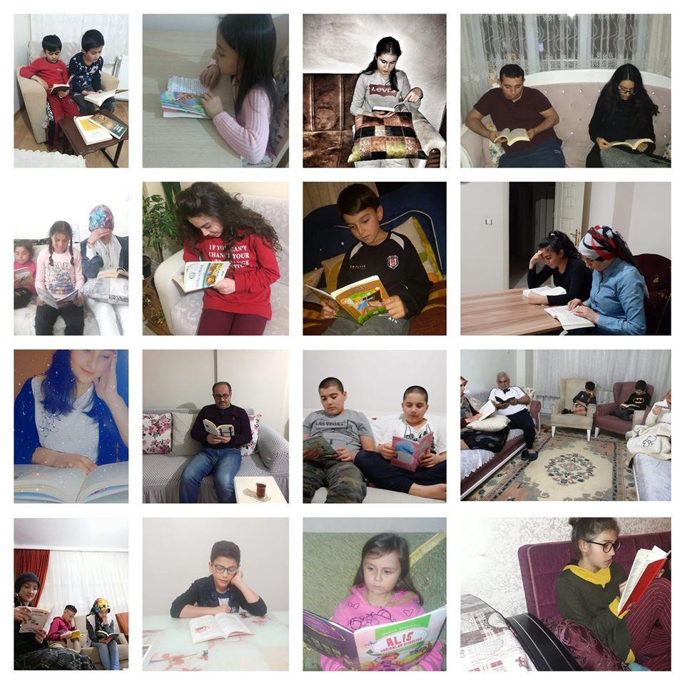 Ramazan bereketi kitap okuma sevinci ile birleşti