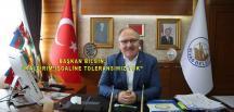 """""""KALDIRIM İŞGALİNE TOLERANSIMIZ YOK"""""""