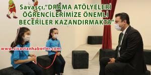 Ulaş İlkokulunda Drama Atölyesi Açıldı