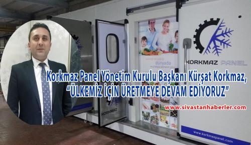 """""""ÜLKEMİZ İÇİN ÜRETMEYE DEVAM EDİYORUZ"""""""