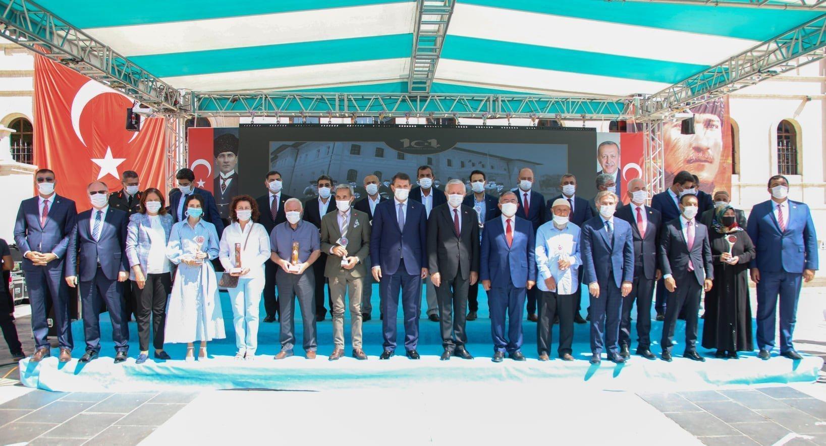 2. Kültür Sanat ve Hizmet Ödül töreni gerçekleşti