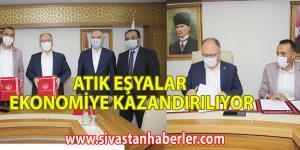 ATIK EŞYALAR EKONOMİYE KAZANDIRILIYOR