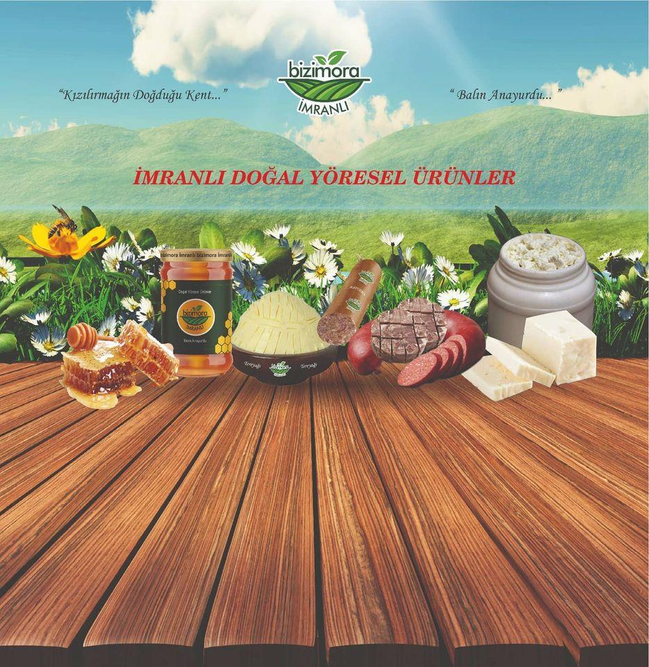 İmranlı doğal ürünleri ile dikkat çekiyor