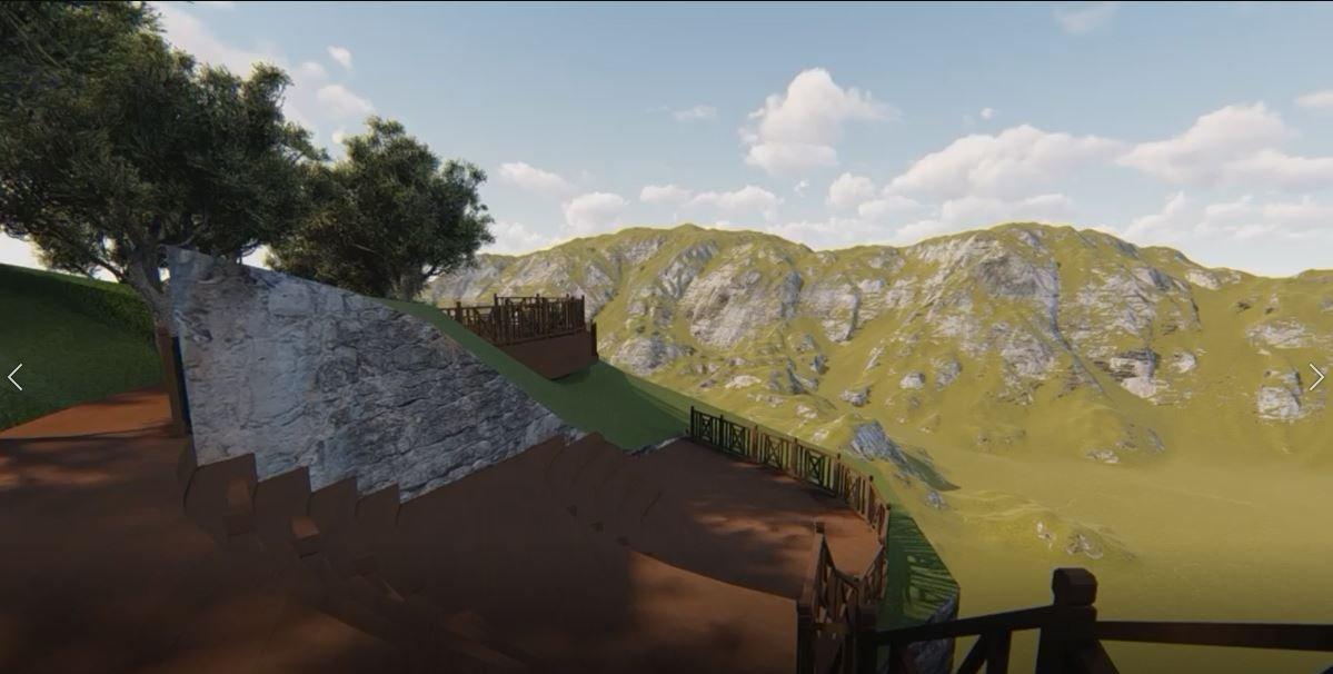 Cam Teras ve Mesire Alanı projesi tamamlandı