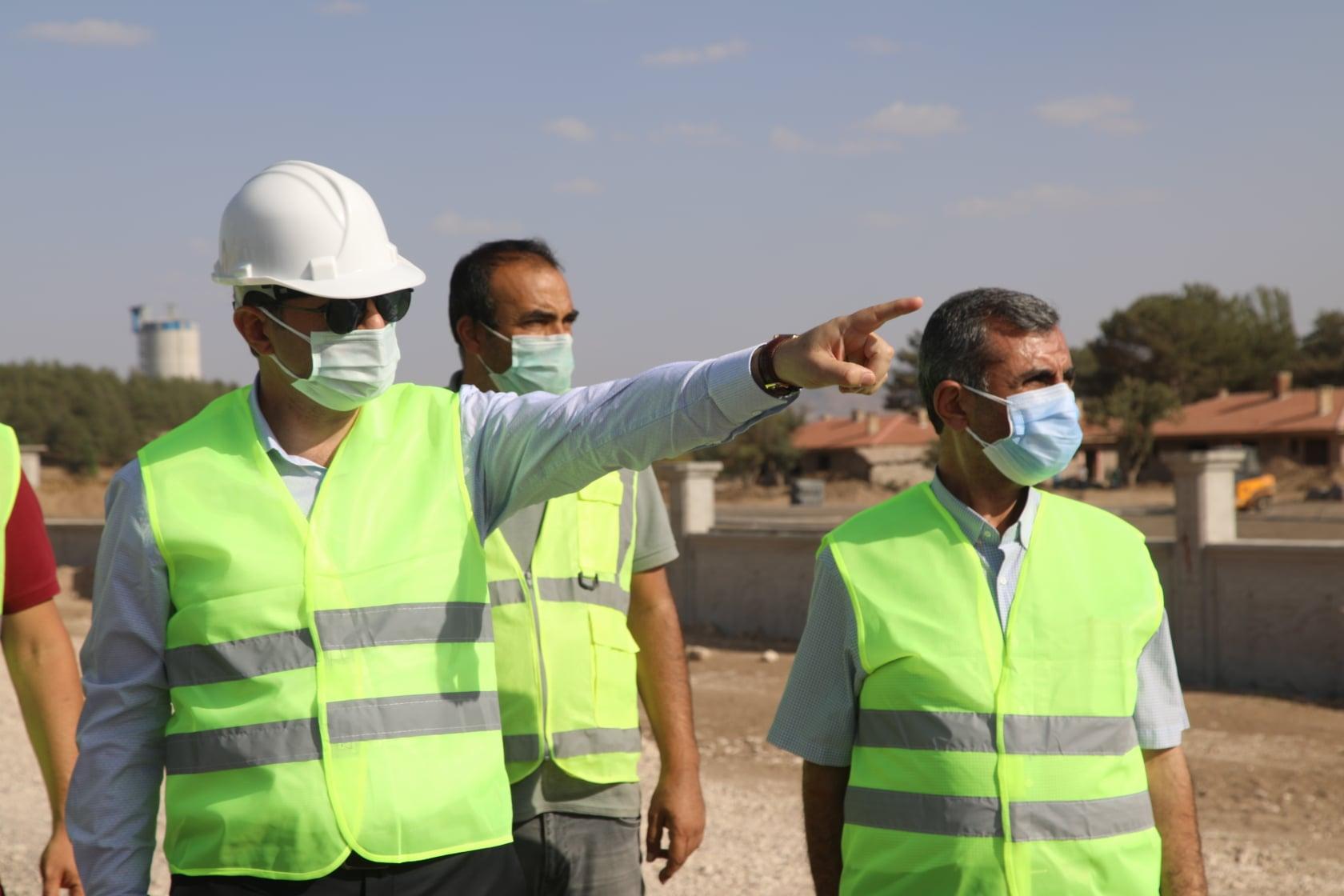 Hamidiye Kültür Parkı'nda Çalışmalar Sürüyor