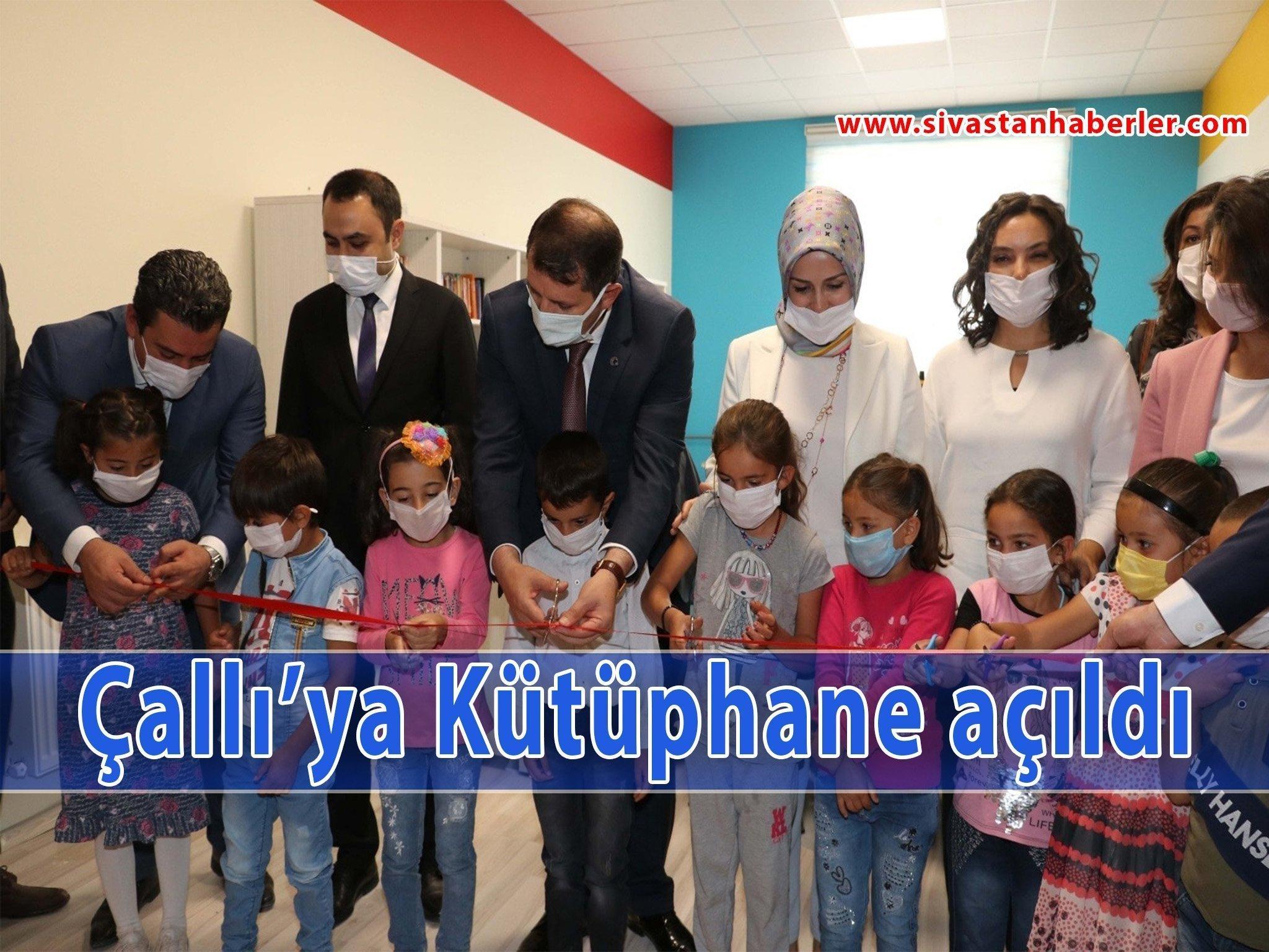 Çallı'ya Kütüphane açıldı