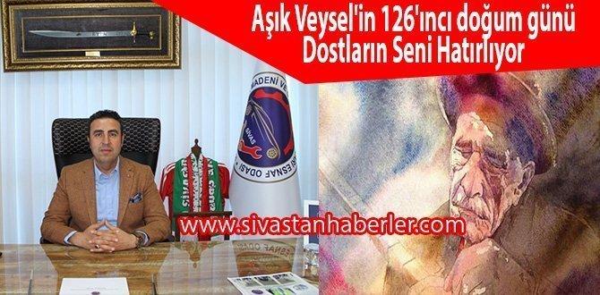 Aşık Veysel'in 126'ıncı doğum günü