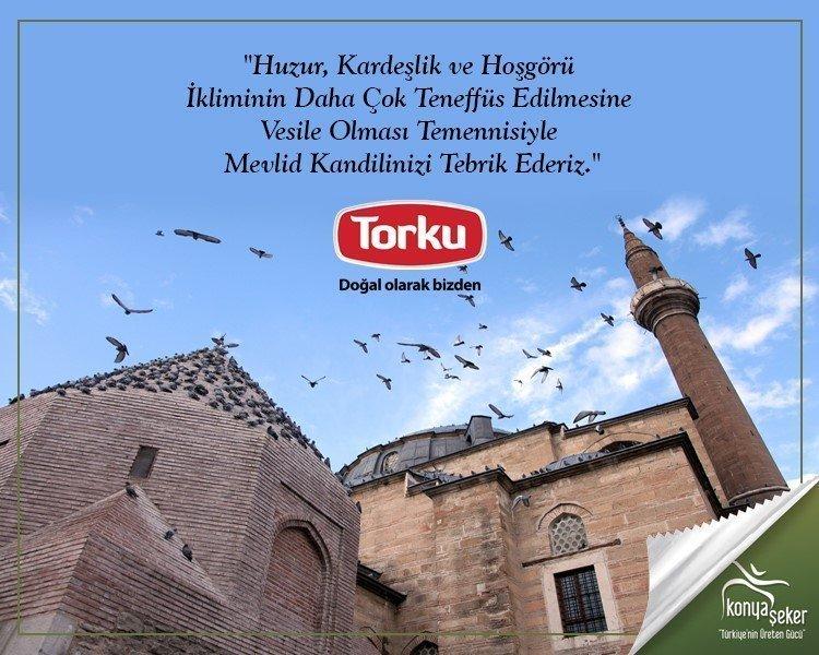 TORKU'dan Kandil mesajı