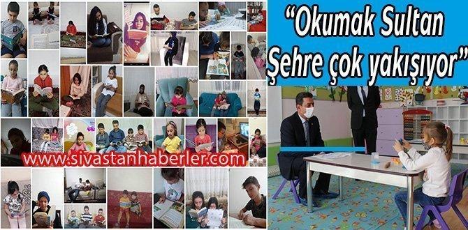 """""""Okumak Sultan Şehre çok yakışıyor"""""""
