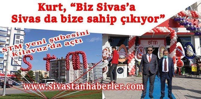 """Kurt, """"Biz Sivas'a, Sivas da bize sahip çıkıyor"""