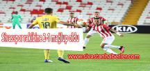 Sivasspor rakibine 2-1 mağlup oldu