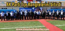 AK Parti İlçe Kongrelerini tamamladı.