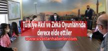 Türkiye Akıl ve Zekâ Oyunlarında derece elde ettiler