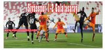 Demir Grup Sivasspor 1-2 Galatasaray
