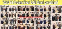 '2020 Yılı Projem Sivas' ödül töreni gerçekleşti