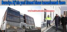 Buruciye AŞ'nin yeni hizmet binası tamamlanmak üzere