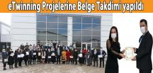 eTwinning Projelerine Belge Takdimi yapıldı