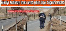 Sivas Belediye Kısıtlamayı fırsata çevirdi