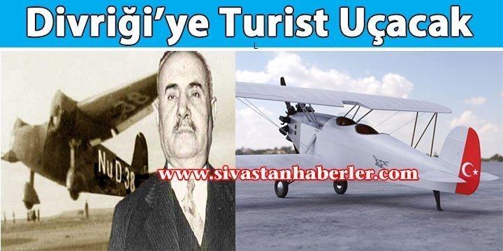 Divriği'ye Turist Uçacak