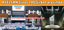 ASELSAN Sivas 100 Şirket arasında