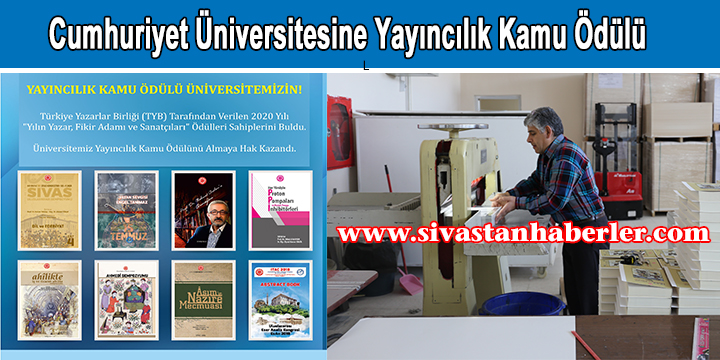 Cumhuriyet Üniversitesine Yayıncılık Kamu Ödülü