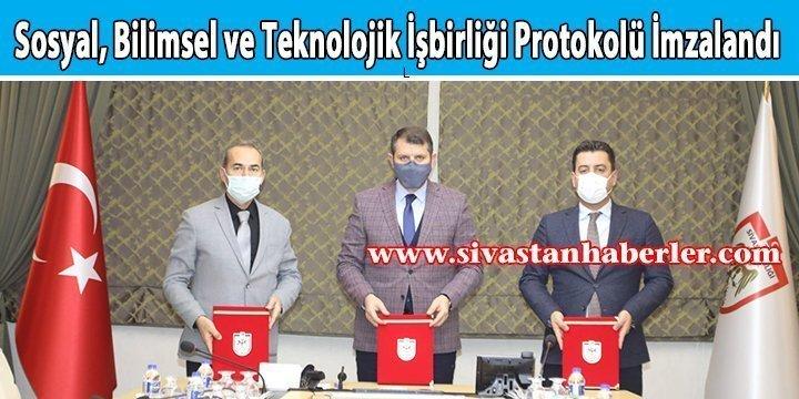 Sosyal, Bilimsel ve Teknolojik İşbirliği Protokolü İmzalandı