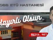 Bozbaş, TOBB ETÜ Tıp Fakültesi Hastanesi'nde