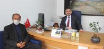 Başkan Şimşek'ten Tapu Müdürlüğüne ziyaret