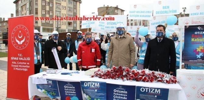 2 Nisan Dünya Otizm Farkındalık Gününde Stant Açıldı
