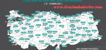 Sivas'ta haftalık vaka sayısı düşmek bilmiyor