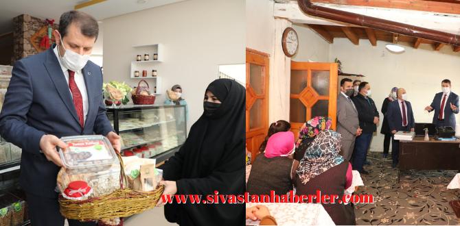 Vali Salih Ayhan, ilçe ziyaretlerine devam ediyor