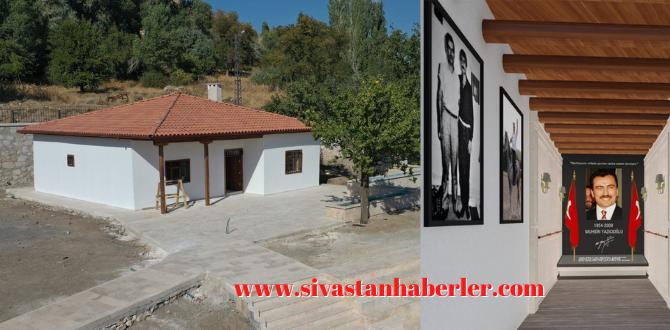 'Muhsin Yazıcıoğlu Anı Evi' açılış için gün sayıyor