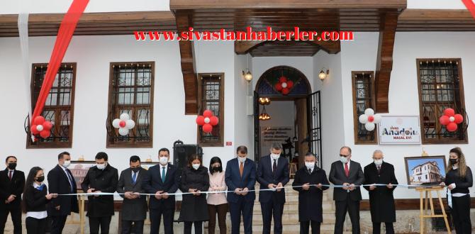 Sivas Masal Evi Hizmete Açıldı