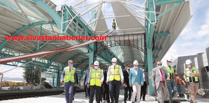 Sivas'ta YHT Gar Binasında Sona Gelindi