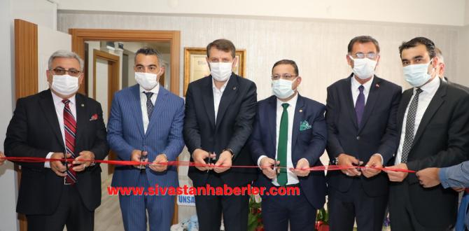 Sivas Ticaret Borsası ve STSO Kangal'a Temsilcilik Açtı