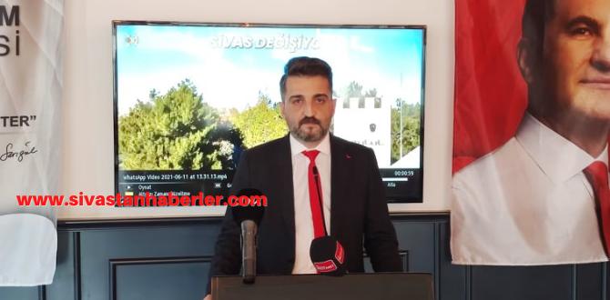 Serkan Erdem TDP Sivas İl Başkanı Oldu