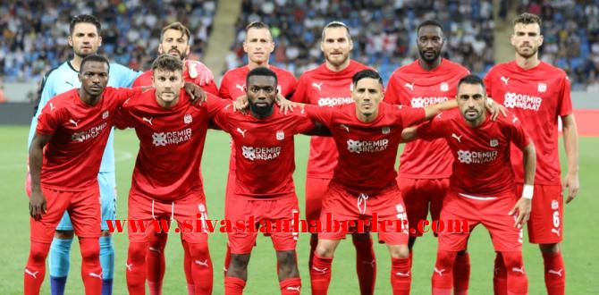 Sivaspor UEFA Avrupa Konferans Ligi'nde Play-Off'a yükseldi
