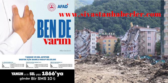 AFAD yardım kampanyası başlattı