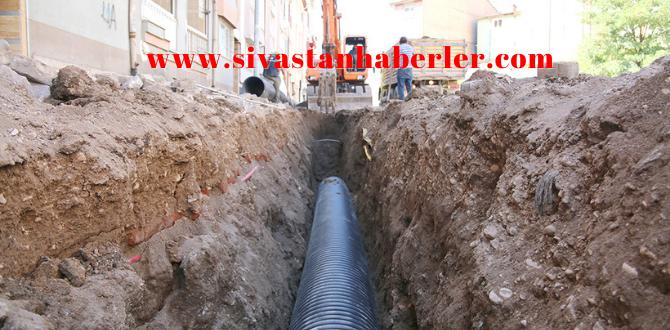 Sivas'ta Yağmursuyu hattı Ne Durumda?