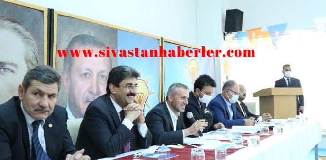 Kandemir Sivas'a geldi