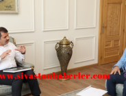 Sivas Turizm Derneği'nden Vali Ayhan'a Ziyaret