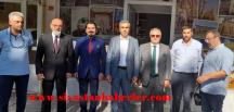 Sivas Turizm Derneğine hayırlı olsun ziyareti