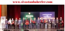 """Sivas, Kültür, Sanat ve Hizmet Ödülleri"""" töreni gerçekleşti"""