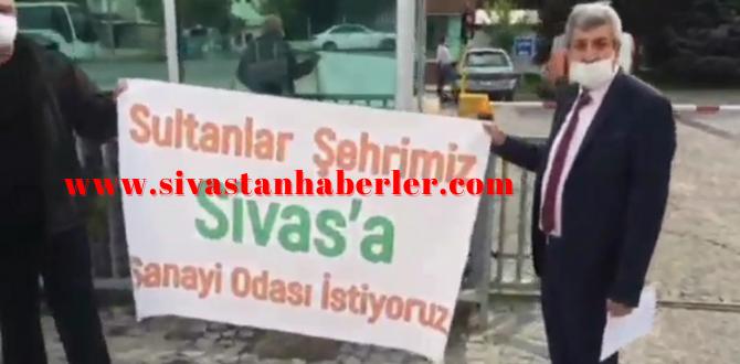 Sivas'ta Sanayi Odasının Ayrılmasını istediler