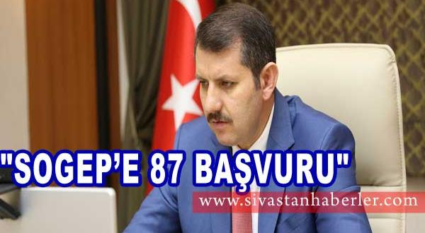 """""""SOGEP'E 87 BAŞVURU"""""""