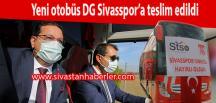 Yeni otobüs DG Sivasspor'a teslim edildi