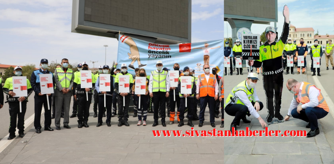Sivas'ta Maket Trafik Polisi Dönemi Başladı