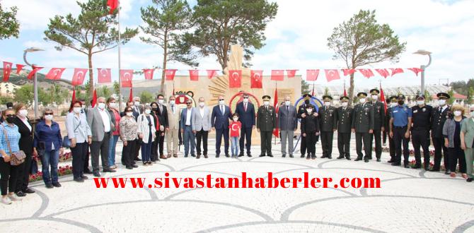 Atatürk'ün Sivas'a Gelişinin 102. Yıl Dönümü Kutlandı