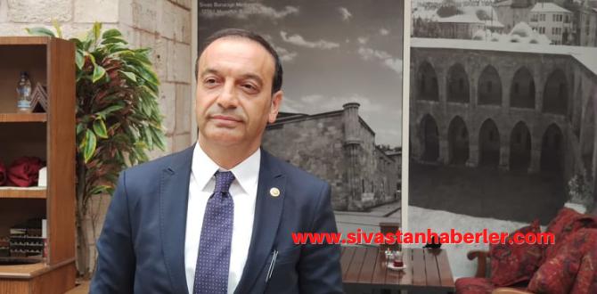 """""""Sivas'a Yatırım İçin Yarın Da Başlayabiliriz Öbür Günde Başlayabiliriz"""""""